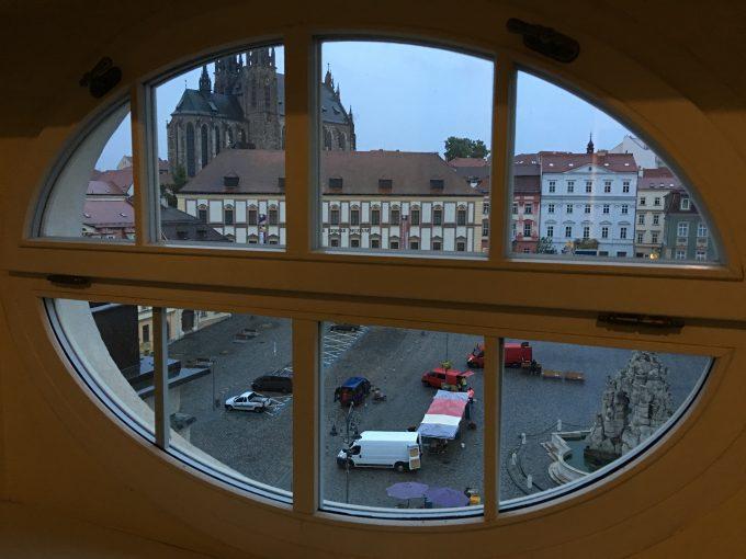 お部屋の窓からの様子