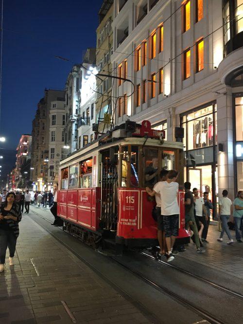 「イスタンブール」トラム