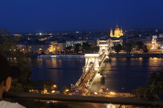 ブタペストの夜景