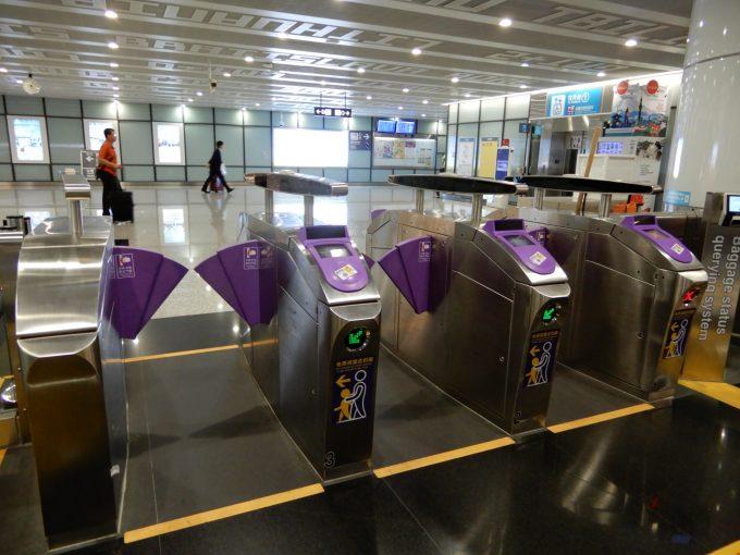 台北MRTの改札