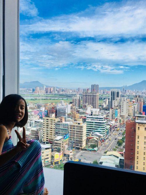 お部屋からの眺めもアジアらしくて素敵でした