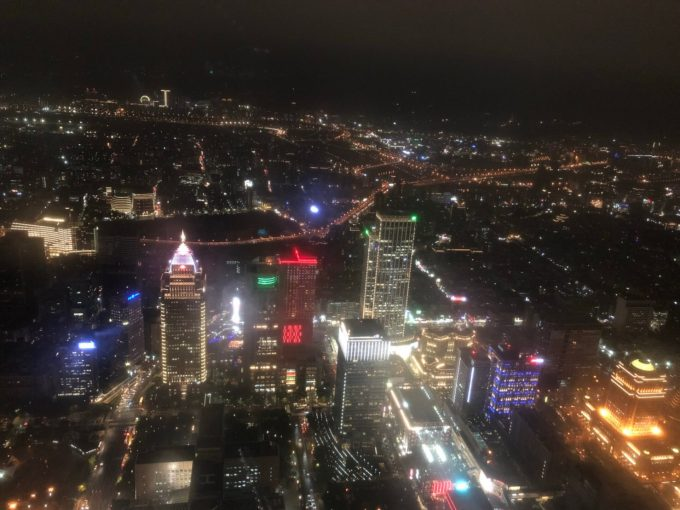 台北の壮大な夜景