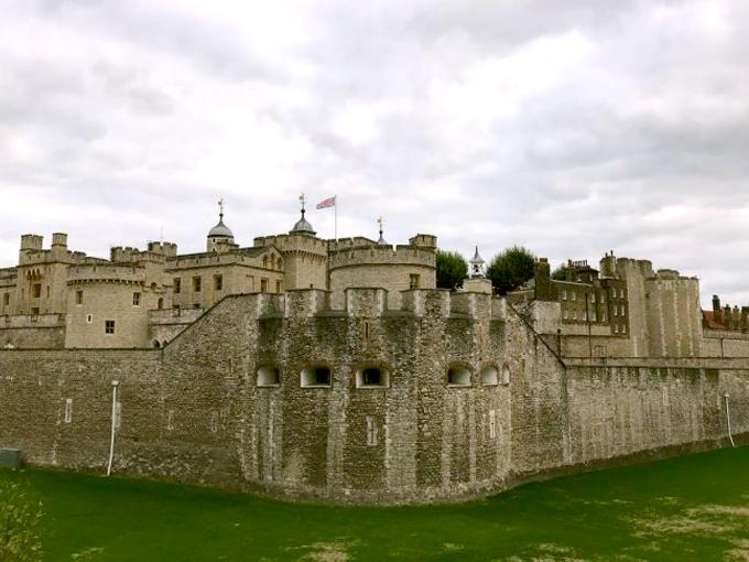 歴史深いロンドン塔