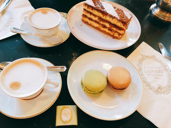 ラデュレのマカロン&ケーキ
