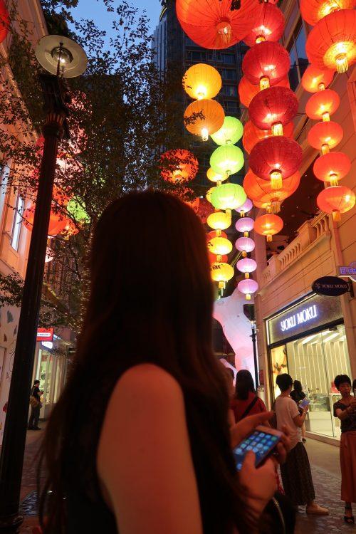 香港リートンアベニューにて