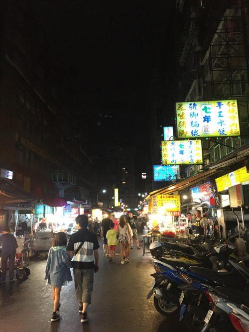 龍山寺の夜市