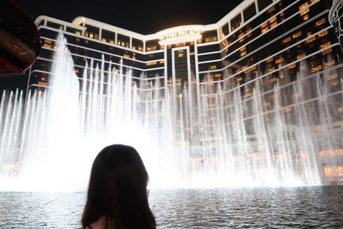 ウィン・パレス・コタイの噴水ショー