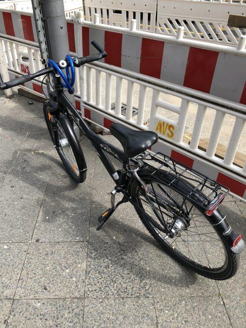 自転車を借りました