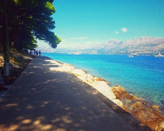 クロアチアは風光明媚な国でした