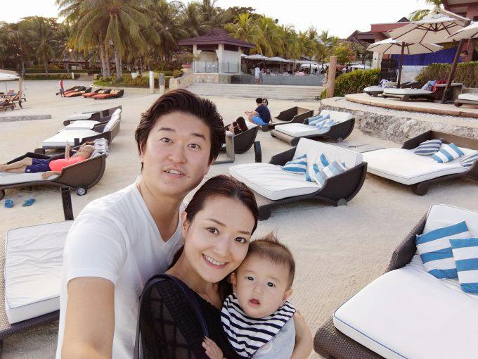 家族3人はじめての海外旅行