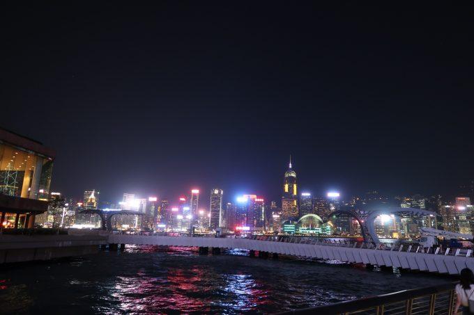 香港星光大道にて