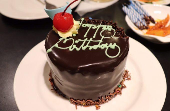 ホテルからのおもてなし「バースデーケーキ」