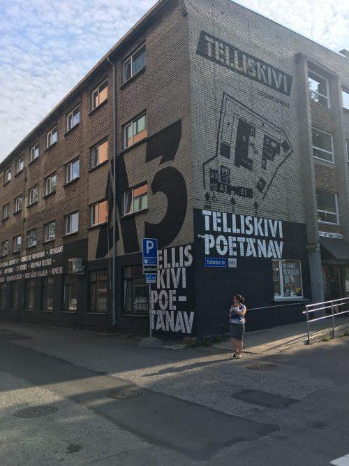 タリンの最先端の地・Telliskivi Loomelinnak