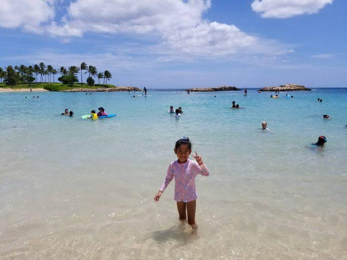 アウラニのプライベートビーチ