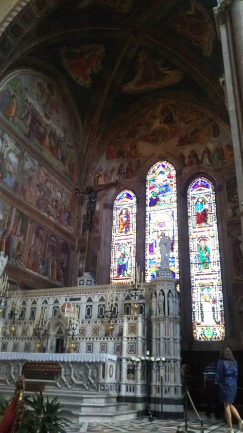 サンタマリアノベッラ教会写真