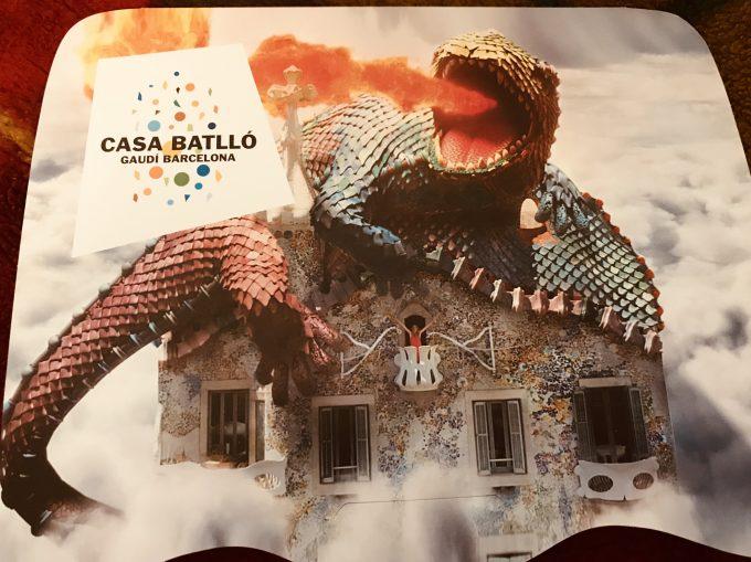 カサ・バトリョの記念写真