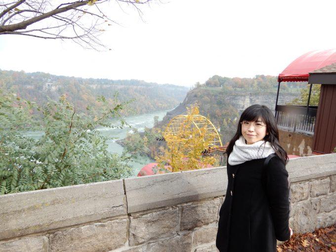 ナイアガラの滝 紅葉と