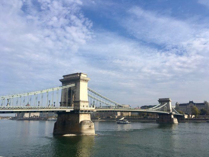 ブタペスト「くさり橋」