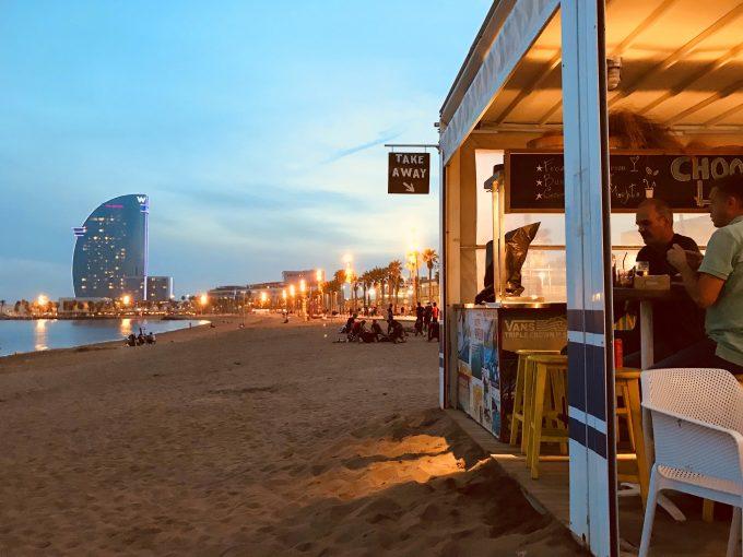 バルセロナ海岸