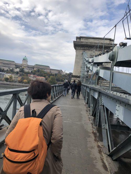 セーニーチェくさり橋