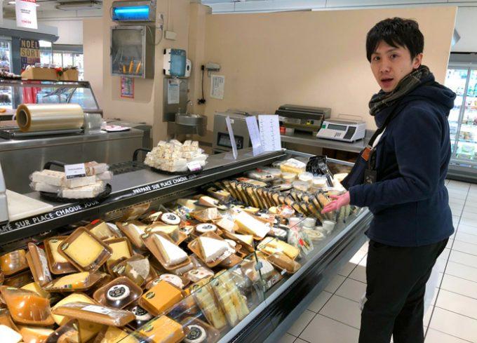 チーズの種類にびっくり!
