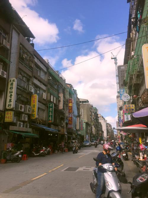 どこか懐かしい台北市内