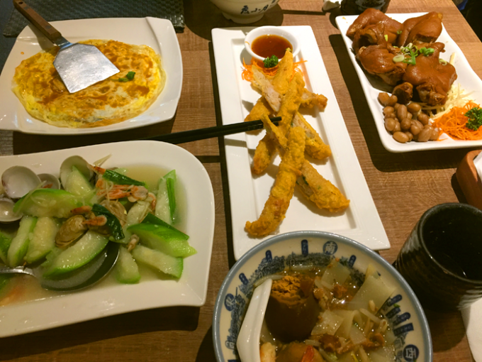 優しいお味の台湾料理の数々