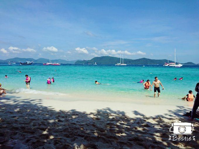 海が綺麗なコーラル島