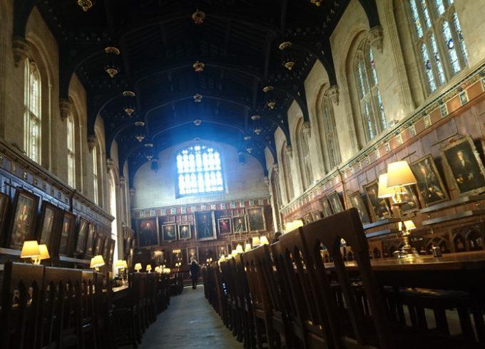 オックスフォード大学の「ザ・グレート・ホール」