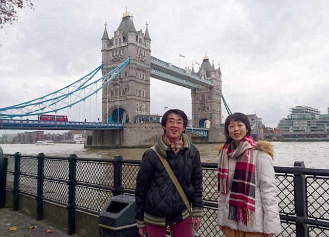 ロンドンのシンボル「タワーブリッジ」