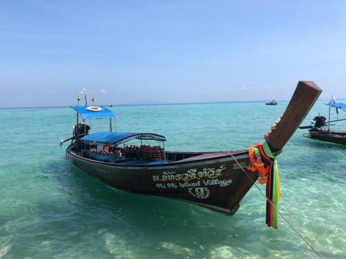 2泊じゃもったいない!美しいピピ島の海