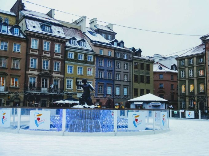 ワルシャワ旧市街広場