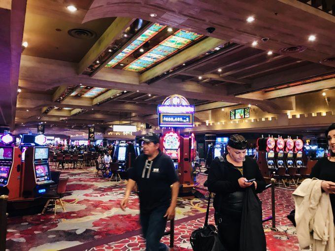 ラスベガスのカジノの様子