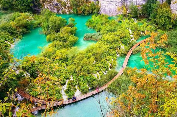 世界遺産プリトヴィツェ湖群国立公園