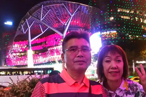 シンガポールのイルミネーション