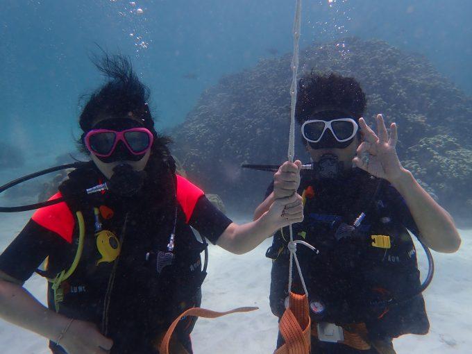 ラチャヤイ島のダイビング!
