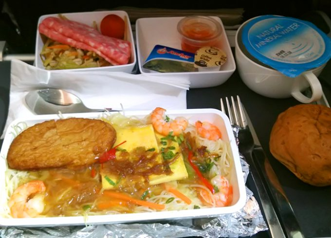 食事も美味しい「シンガポール航空」