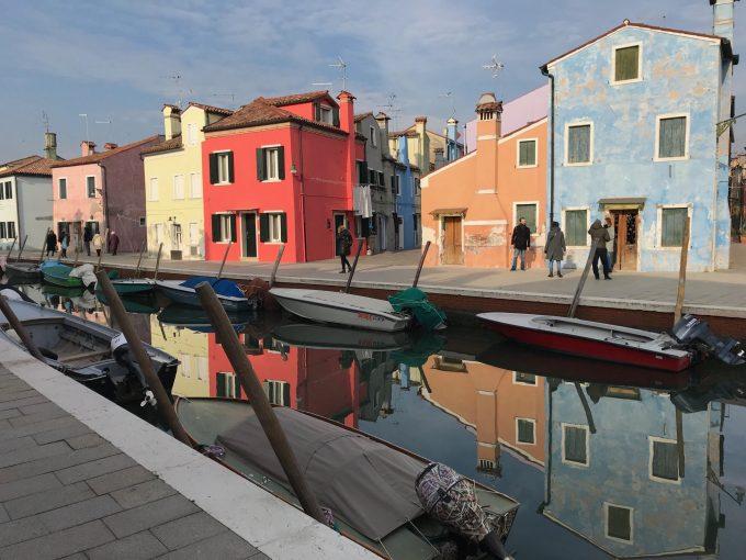 ベネチア、ブラーノ等の街並み