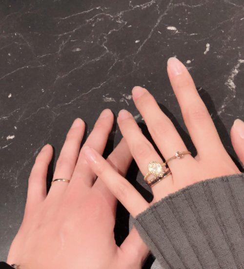 ブシュロン、パリ本店で購入した結婚指輪