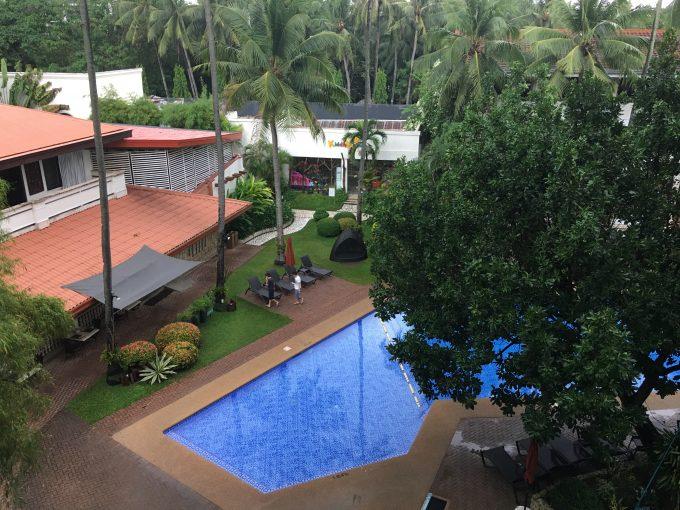 ホテルのお部屋からの写真