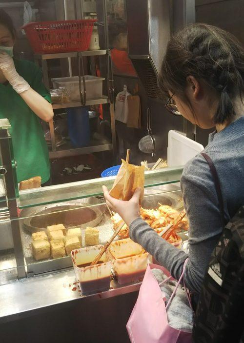 香港の臭豆腐