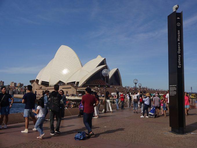シドニーのシンボル「オペラハウス」