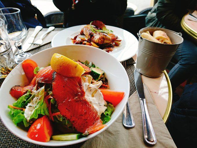 ヴェルサイユ宮殿近くのビストロ「LE LYAUTEY」で食べたランチ