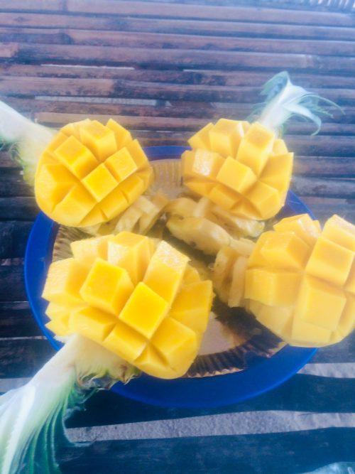 パンダノン島でマンゴーで食べたマンゴー