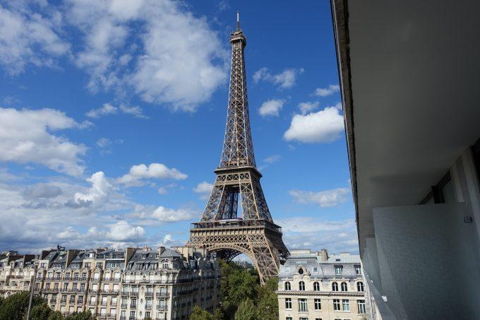 プルマン パリ の部屋からの眺め