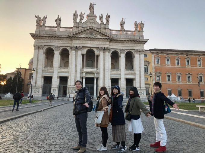 ローマのサンジョバンニインラテラノ教会