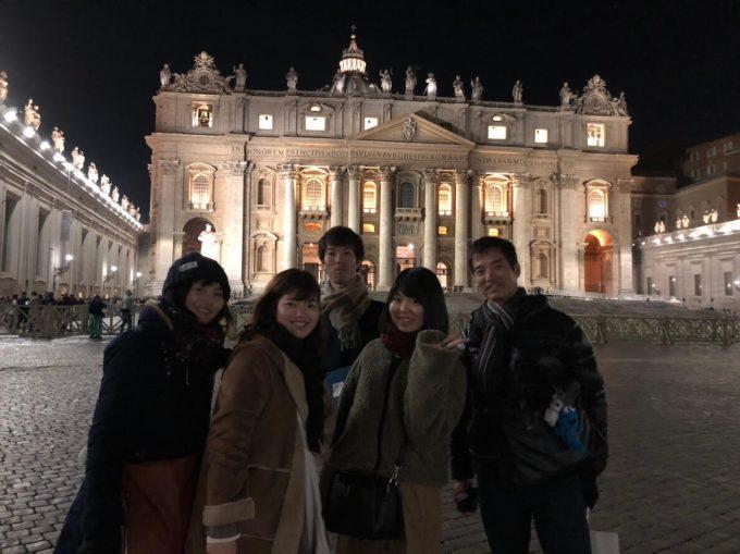美し過ぎたサンピエトロ大聖堂