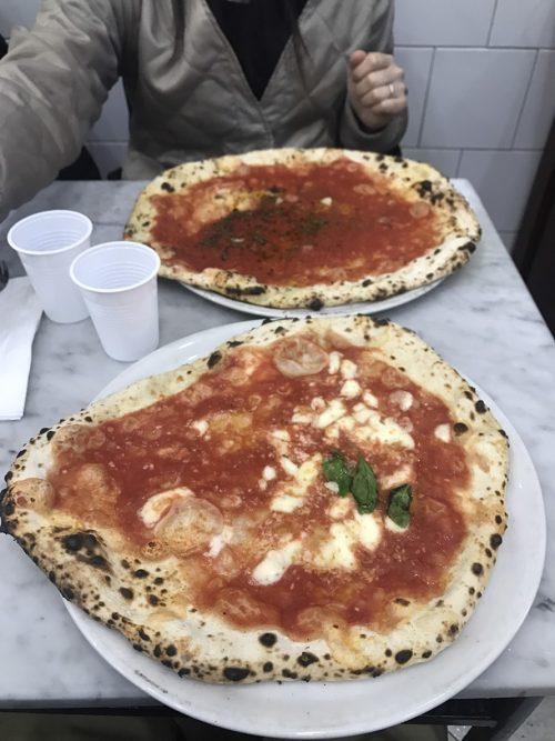 ナポリで食べたピッツァ