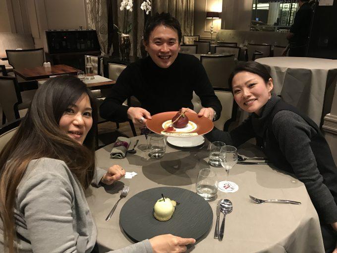 パリに住む友達と食事