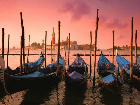 ベネチア:ゴンドラ